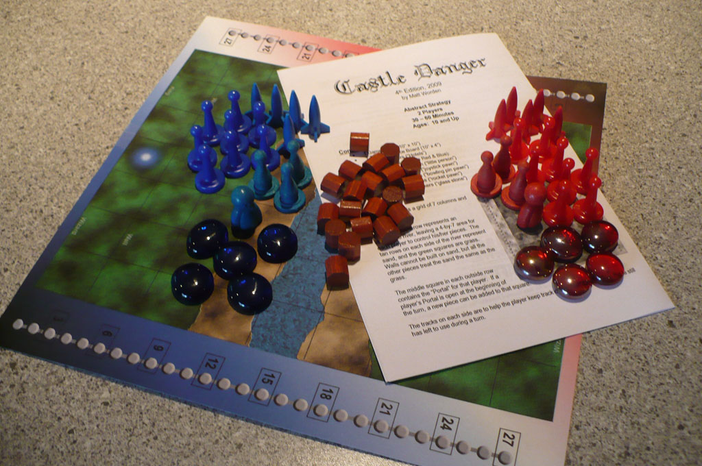 Castle Danger Components from TGC