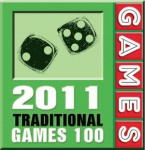 """Jump Gate"" is the GAMES 2011 Traditional Game of the Year"