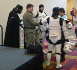 Darth Vader and Stormtroopers at GenCon Indy 2011