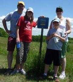 Worden Family Hiking