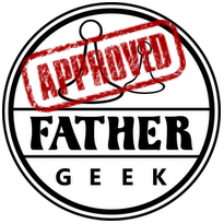 Father Geek Seal of Approval