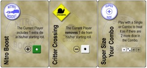 Dicey Curves DANGER! Expansion - Dice Modifier Cards
