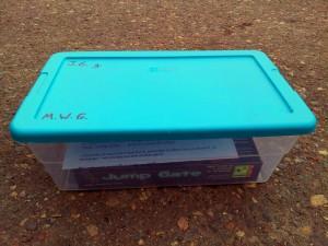 Jump Gate geocache Box - Feb. 2012