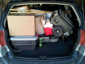 Packed and Ready for CotN 2012