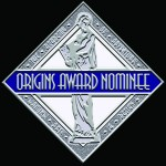 Origins Award Nominee Seal