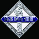 Origins Award Nominee Seal