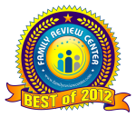 Family Review Center Best of 2012 Seal