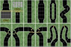 Dicey Curves Update - Prototype Track Mats