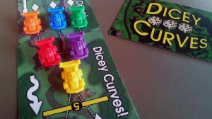 Dicey Curves, with new race cars, November 2013