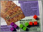 Magistrate: Cards, Cubes and Actions
