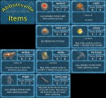 Abbottsville, All Item Cards