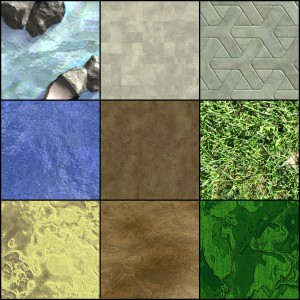 Texture Examples from Genetica Viewer
