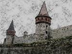 Danger at the Walls, Castle Sketch, June 2014