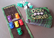 Dicey Curves, Deluxe Edition – $29.99 Rollin' Dice & Racin' Cars! A party-style racing game for 2-8 players.