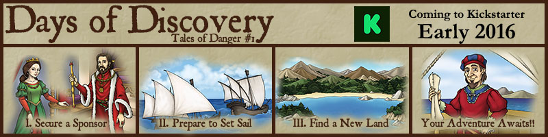 Days of Discovery - Coming to Kickstarter in early 2016