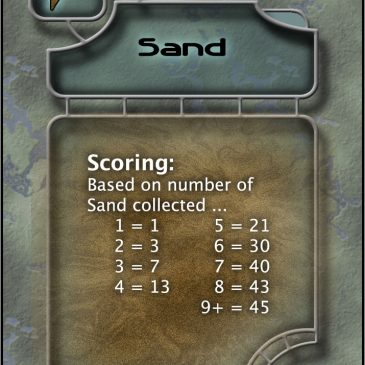 "New ""Sand"" Cards PnP for Jump Gate, 1st & 2nd Editions"