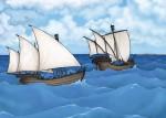 Raimundo's Ships at Sea