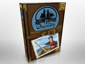Tales of Danger #1: Days of Discovery - Early Box Cover Mock-up, July 2015