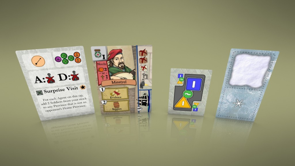 Examples of multi-use cards