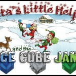 Santa's Little Helpers and the Ice Cube Jam - Title Graphics
