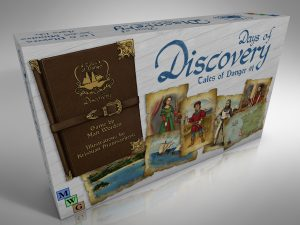 Days of Discovery - First Draft Box Cover Render