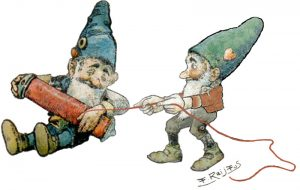 Gnomes Doing Gnome-Like Things