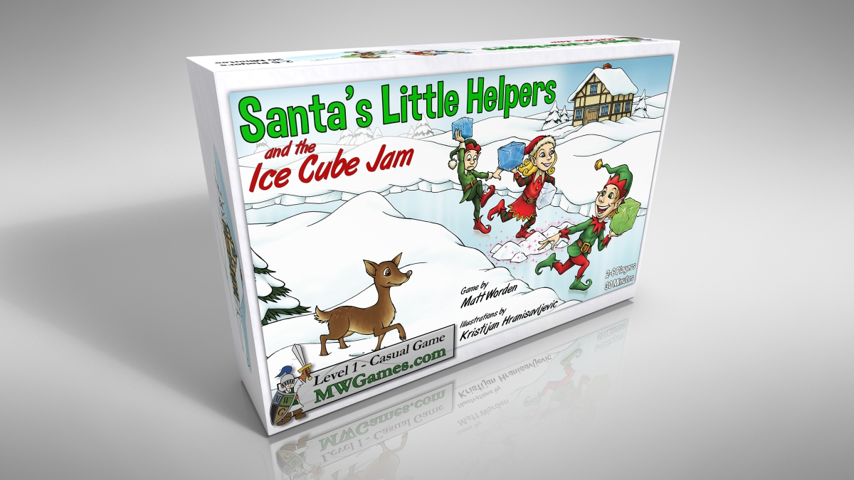 Santa's Little Helpers and the Ice Cube Jam – $19.99