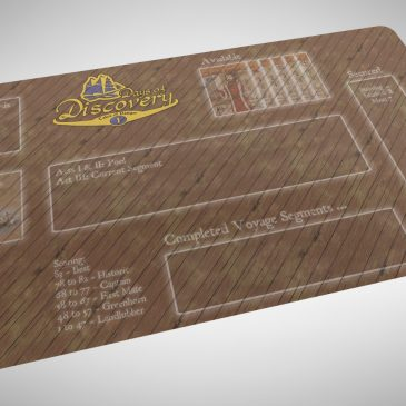 A Neoprene Playmat for Days of Discovery Solo-Mode